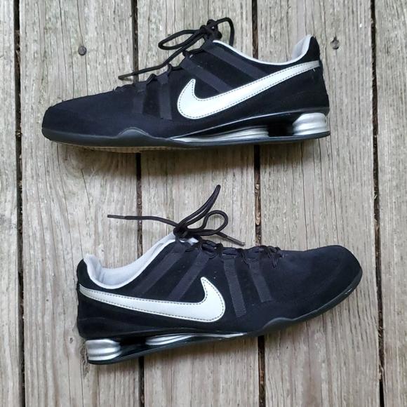 Nike Shoes   Vtg 6 Nike Shox Suede Low